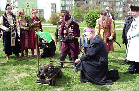 Foto: W miniony weekend oficjalnie swoją działalności bracia kurkowi z Łomży
