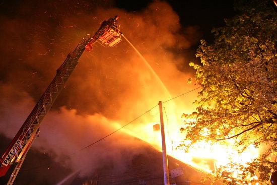 Foto: Pożar na Ogrodowej