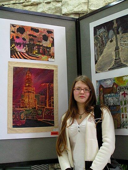 Foto: Batiki z Łomży nagrodzone w stolicy