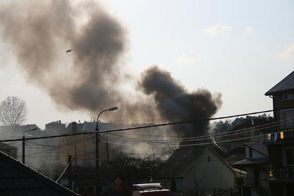 Foto: Pożar na Kierzkowej