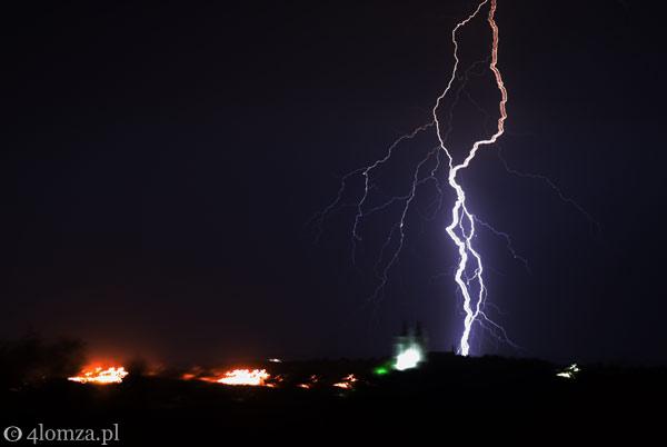 Foto: Po burzy... Na szczęście w żadnym ze zdarzeń nikt nie odniósł obrażeń