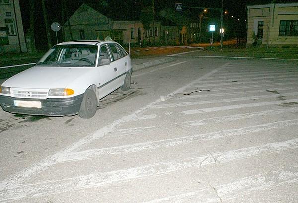 Foto: Pijany kierowca potrącił mężczyznę na parkingu