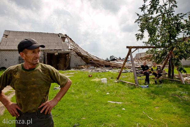 Foto: Wojewoda wystąpił do rządu o wsparcie dla poszkodowanych przez nawałnicę