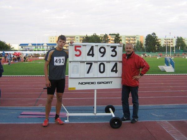 Foto: Złoto Paducha na OOM w lekkiej atletyce