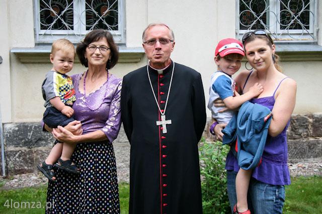 Foto: Radosne imieniny św. Anny i św. Joachima w Łomży