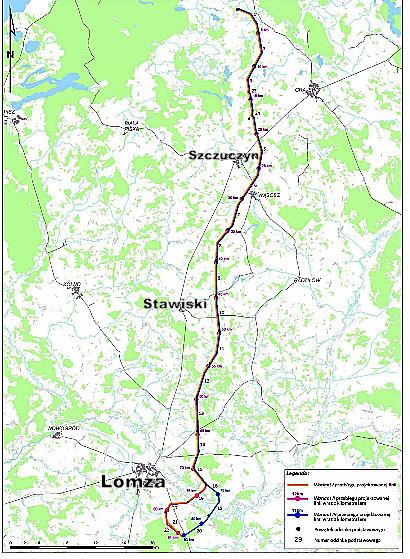 Foto: 400kV Ełk - Łomża do decyzji środowiskowej