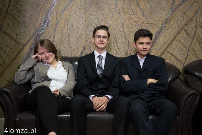 Foto: Egzamin gimnazjalny wśród piramid i celebrytów