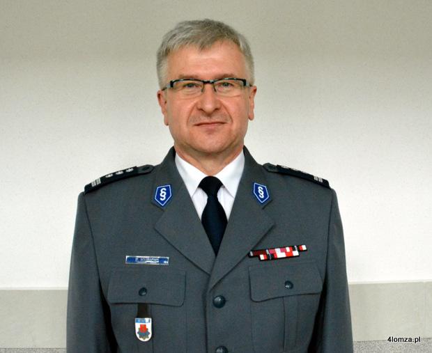 Foto: Nowy zastępca komendanta wojewódzkiego policji z Łomży
