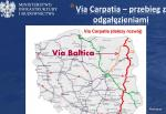 Foto: Via Baltica vs. Via Carpatia