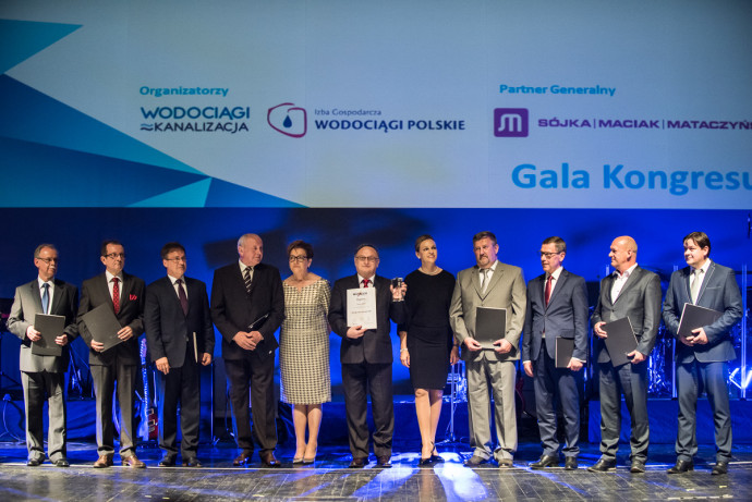 "Foto: Prezes MPWiK nominowany do ""Managera Roku 2015 WOD-KAN"""