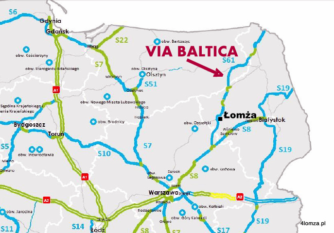 Foto: Ekspresowa Via Baltica w planach drogowców i Morawieckiego