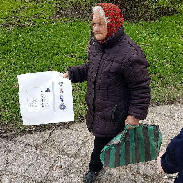 """Foto: Policyjna akcja: """"zakupy nie zając, nie uciekną"""""""
