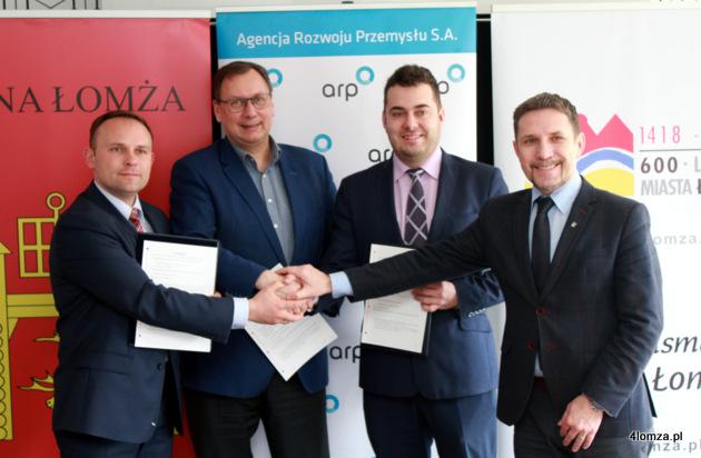 Foto: ARP rozpoczyna współpracę z miastem i gminą Łomża. Podpisali list, treść poufna!