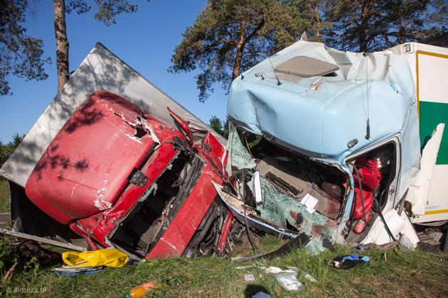 Foto: Poranny wypadek za Podgórzem