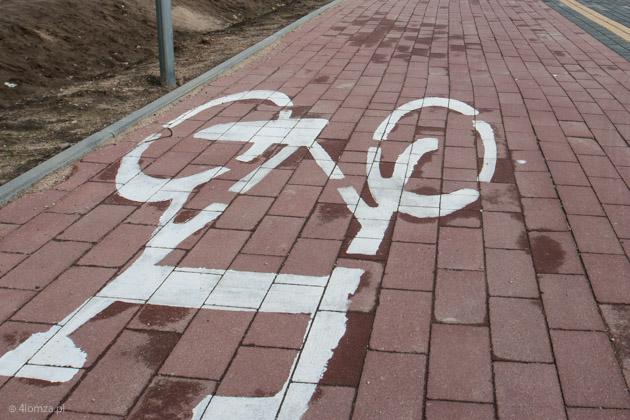 Foto: Zderzenie rowerzysty z pieszą