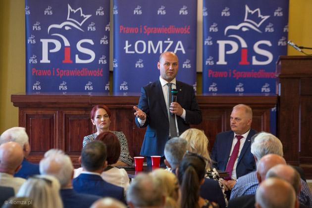 Foto: Polityczne spotkanie w Jańskim