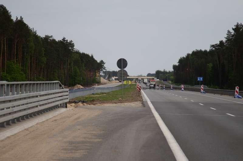 Foto: Ekspresówką do Warszawy na koniec wakacji