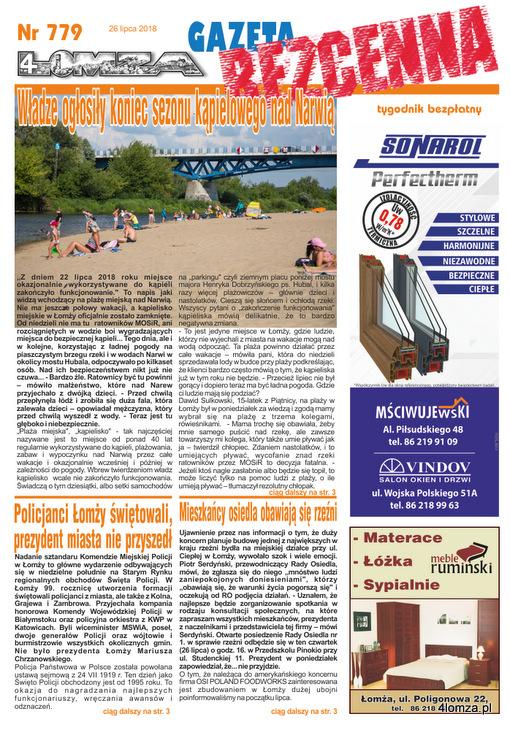 Foto: Władze ogłosiły koniec sezonu kąpielowego nad Narwią