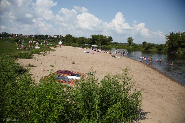 Foto: Topiącego się 11-latka ratuje w rzece i na plaży mężczyzna