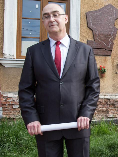 Foto: Kandydat na prezydenta Łomży