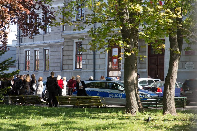 """Foto: """"Wybuchowe"""" matury z matmy w 4 szkołach średnich w Łomży"""