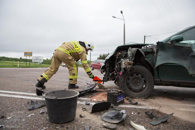 Foto: Wypadek w Piątnicy