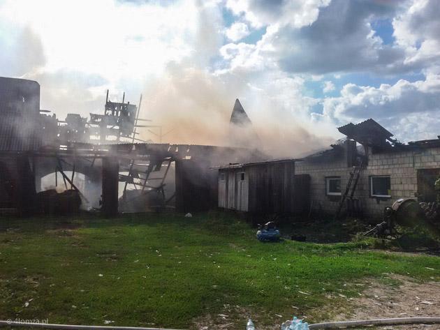 Foto: Duże pożary pod Kolnem