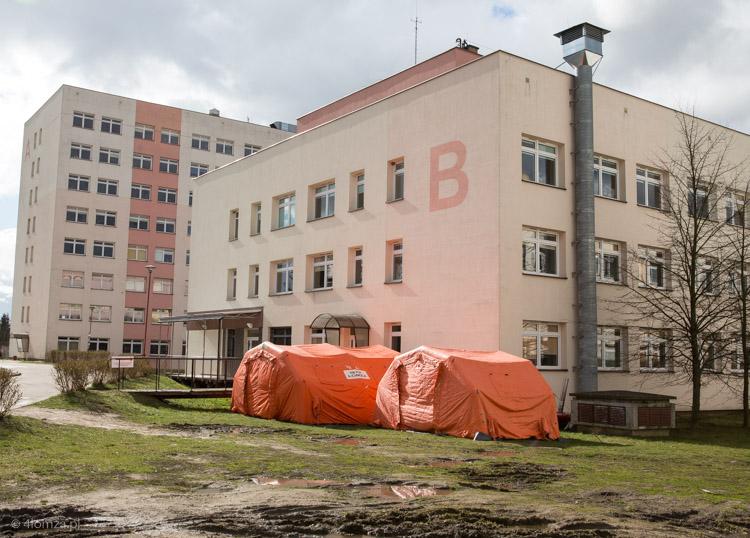 Foto: Szpital zakaźny po miesiącu