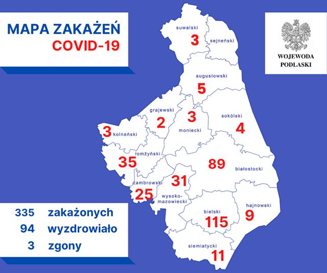 Foto: Nowy przypadek zakażenia koronawirusem w Łomży