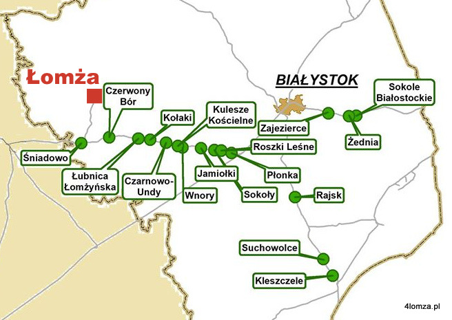 Foto: Nowy przystanek kolejowy m.in. w Łubnicy Łomżyńskiej