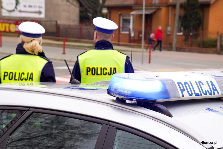 Foto: Policjanci w akcji