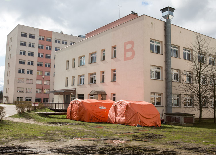Foto: Ważą się losy szpitala w Łomży - od czerwca nie będzie jednoimiennym zakaźnym?