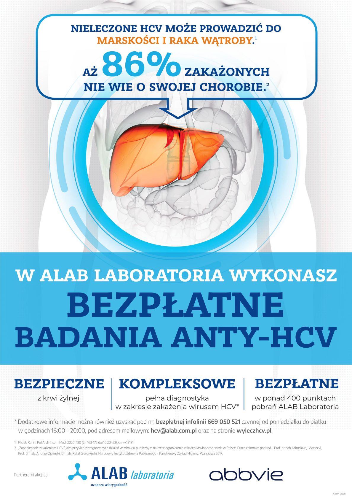 Foto: HCV – tego wirusa może mieć każdy! Bezpłatne badania anty-HCV w całej Polsce