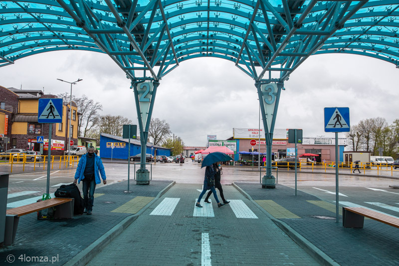 Foto: Dworzec autobusowy przecieka