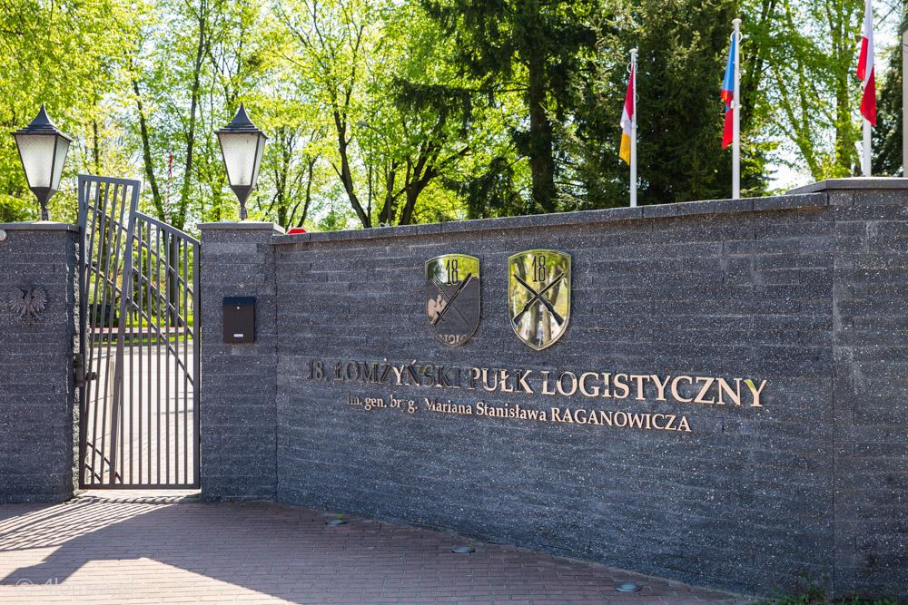 Foto: 18. Łomżyński Pułk Logistyczny w centrum ćwiczeń DRAGON-21