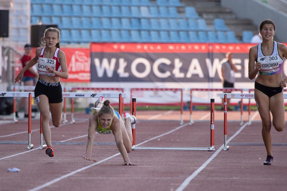 Foto: Życiówki i pech na Mistrzostwach Polski U18